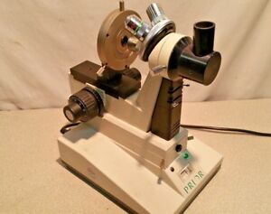 Nice Prior G130 Fiber Optic Bench Microscope End Face Inspection Achromatic