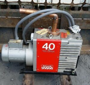 Edwards E2m40 Rotary Vane Vacuum Pump 40 Two Stage