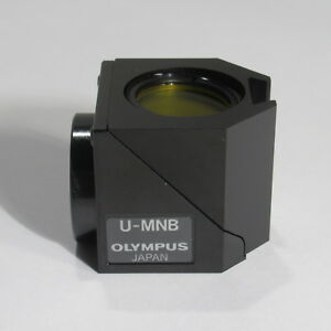 Olympus U mnb Fitc Blue Narrow Band Fluorescence Cube For Bx Microscopes