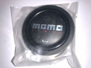 Momo Horn Sm Black Horn Button Small 52mm New Sealed