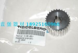 1pc Imported Water Roller Drive Pulley 00 580 6691 For Heidelberg Sm pm52 qt Zx