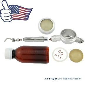 Us Dental Air Flow Polisher Hygiene Prophy Jet Mate Unit Handpiece 4 Hole Nsk