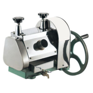 Manual Sugar Cane Ginger Press Juicer Juice Machine Extractor Mill Commercial