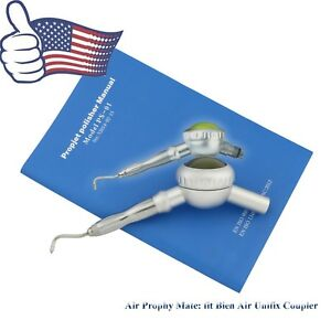 Dental Hygienist Air Flow Prophy Mate Unit Handpiece Fit Bien Air Unifix Coupler