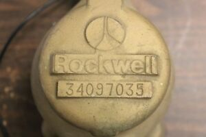 Rockwell 34097035 5 8 Water Meter New