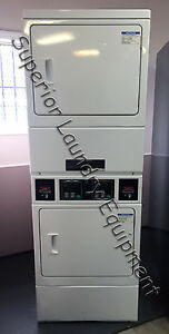 Alliance Speed Queen Ssgy09wf Stack Dryer 120v Gas Card Ready Reconditioned