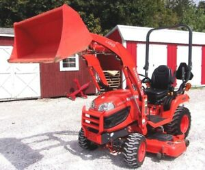 Kubota Bx2370 With 60 Mower And Loader 4x4 377 Hr Can Ship At 1 85 Per Mile