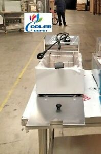 New 2 5 Gallon Electric Deep Fryer Model Fy1 Counter Top Commercial Grade Single