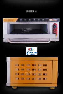 New Commercial Electric Oven Restaurant Equipment W Stainless Steel Table 220v