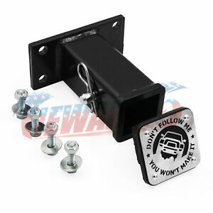2 Trailer Tow Hook Receiver For Dodge Ram 2003 2014 Hitch Truck Front Bumper