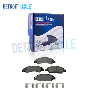 Front Ceramic Brake Pads For Escalade Xts Silverado Sierra Yukon Xl 1500 Tahoe