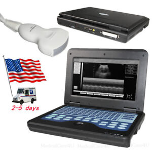 Contec Portable Ultrasound Scanner With 3 5mhz Convex Probe Laptop Machine usa