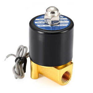 Electric Solenoid Valve Nc 2 way Valves Normally Closed Mayitr For Water Air Gas