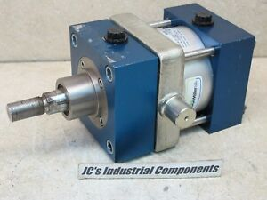 Miller 100 Mm Bore X 35 Mm Stroke Pneumatic Cylinder Front Trunnion