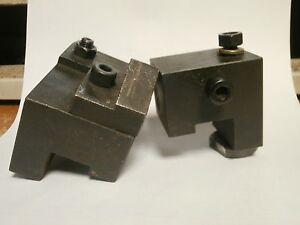 2 Pc Lathe Automatic Carriage Feed Stop With Fine Adjustment Screw
