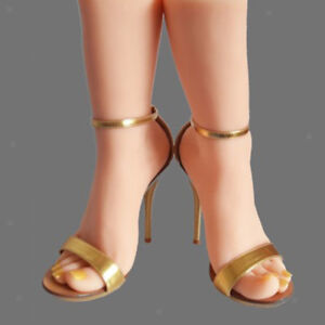 1 1 Realistic Female Silicon Foot Mannequin Model Shoes Socks Display left