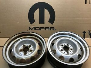 Mopar Small Bolt Pattern Rally Rim 14 5x4 Dodge Dart Plymouth Duster 340