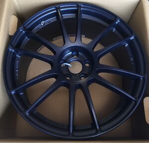 Rays Gram Lights 57xtreme 18x8 5 33 5x100 Winning Blue Wheels full Set Of 4