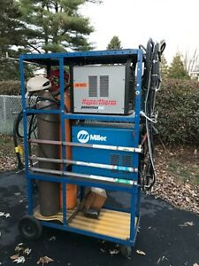 used Plasma Hypertherm 600 Miller Econo Tig Welder W Full Tanks