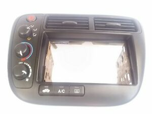 New 1999 01 Honda Civic Heater Ac Climate Control W cd Radio Trim Vent Bezel