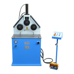 2 Hp Ring Band Roller Round Angle Bender Hydraulic Bending Pipe Tube Square Tube