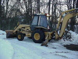 1995 Caterpillar 446b Backhoe Loader