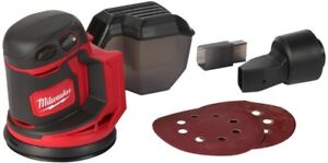 Milwaukee Random Orbit Sander 5 in. 18-Volt Lithium-Ion Lock On Switch Tool-Only