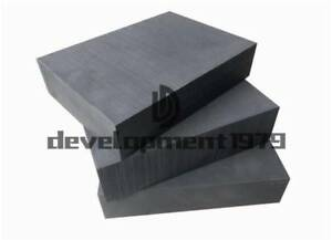 Pure Graphite Block Electrode Rectangle Plate Blank Sheet 5x 100 100 10mm