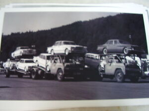 1960 Plymouth Valiant New Cars On Carrier 2 11 X 17 Photo Picture