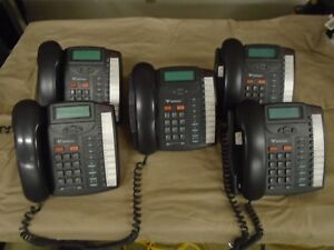 Aastra Vertical 9133i Voip Talkswitch 3 line Telephone W stand Quantity Lot Of 5