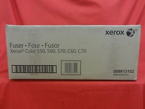 Genuine Xerox 008r13102 Fuser Assembly For Color 550 560 570 C60 C70 New Sealed