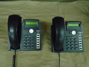 Snom 300 Sip Based Voip Phone W stand Quantity Lot Of 2