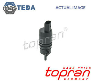 Topran Front Car Glass Wash Washing Pump 107 818 G New Oe Replacement