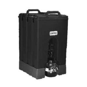 Cambro 1000lcd110 Camtainer Black 11 75 Gal Beverage Dispenser