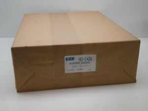 Bud Industries Ac 1426 Aluminum Chassis 17 L X 13 W X 5 H New Sealed