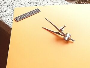 Starrett No 277 3 Dividers With Round Legs Mini 3 Capacity Made In The Usa