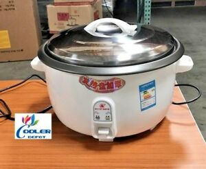 New 30 Cup 18 Liter Commercial Rice Cooker Warmer Steamer Model Cup30