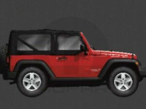 2007 2010 Jeep Wrangler Tinted Soft Top Windows Kit Mopar