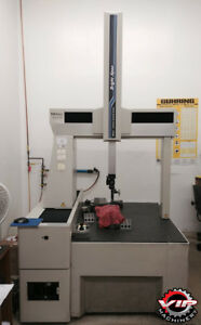 Mitutoyo Bright Apex A707 Cmm Coordinate Measuring Machine Renishaw Ph9 Probe