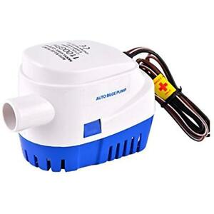 Boat Bilge Water Pump 12v 1100gph 3 8a Automatic Submersible Yatch Float Switch