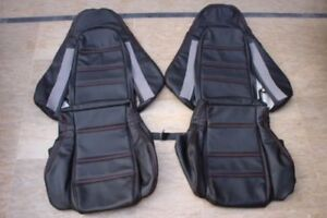 1993 1999 Mazda Rx 7 Fd 3s Replacement Leather Seat Covers Black