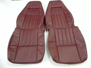 1979 1983 Datsun 280zx Replacement Leather Maroon Seat Covers