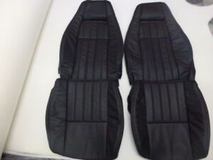 1979 1983 Datsun 280zx Replacement Leather Black Seat Covers