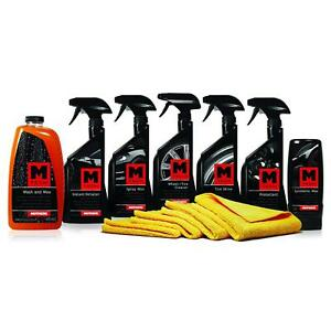 Car Care Gift Kit Complete Auto Detailing Easy Clean Shine Wax Interior Exterior
