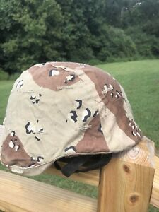 PASGT Army Helmet Large Team Wendy Pads Chinstrap Desert Cover USMC Ballistic US