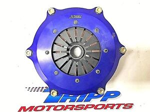New Zoom 2 Disc Racing Clutch 7 25 26 Spline Sb Chevy Nascar Ump Modified