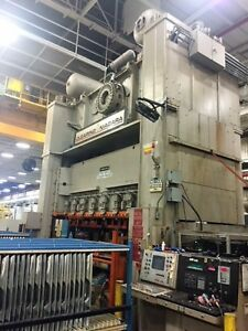 880 Ton Clearingniagara Straight Side Double Crank Stamping Press Se2 800 192 60