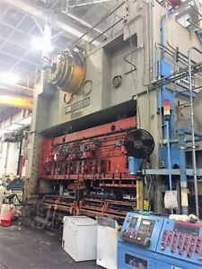 800 Ton Usi Clearing Straight Side Double Crank Stamping Press S4 800 222 72