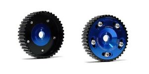 Obx 2pc Blue Cam Sprocket Set For 95 99 420a Eclipse Non Turbo 2 0l Dohc