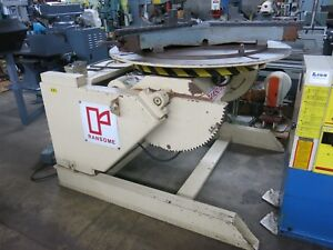 Ransome 120 p Welding Positioner With Chuck 12k Capacity 60 Faceplate